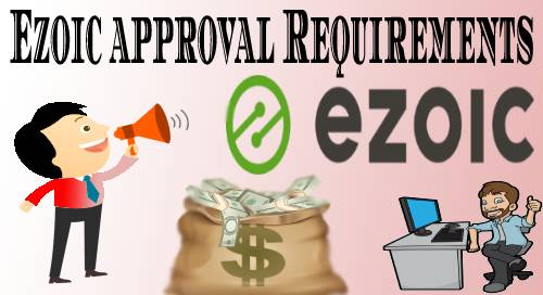 Ezoic approval Requirements step by step